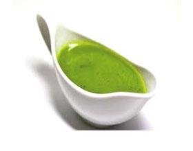 Зеленый томатный соус